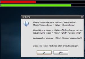 Lautstärkeregelung für Windows XP