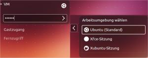 Desktop-Auswahl