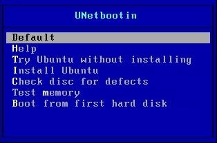 USB-Boot mit Unetbootin