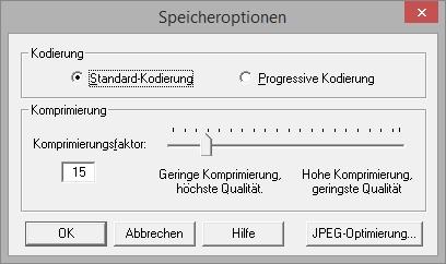 JPEG-Komprimierung