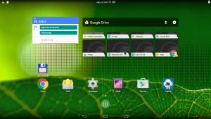 Ungewöhnlicher Desktop: Android ist das System mit dem flüssigsten Benutzererlebnis auf der Cubox. Andererseits hat die Smartphone-/Tablet-GUI unvermeidliche Produktivitätsnachteile gegenüber einem Debian.